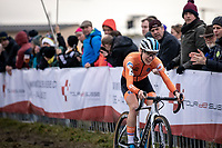 Yara Kastelijn (NED)<br /> <br /> Women's Elite Race<br /> UCI 2020 Cyclocross World Championships<br /> Dübendorf / Switzerland<br /> <br /> ©kramon