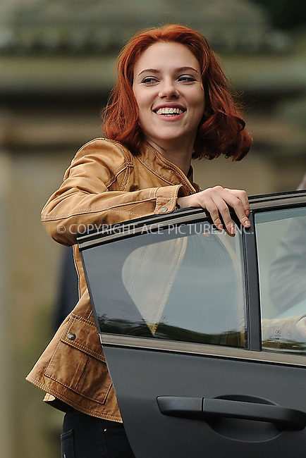 WWW.ACEPIXS.COM . . . . . .September 2, 2011, New York City....Scarlett Johansson on the  movie set of the Avengers in Central Park on September 2, 2011 in New York City ...Please byline: KRISTIN CALLAHAN - ACEPIXS.COM.. . . . . . ..Ace Pictures, Inc: ..tel: (212) 243 8787 or (646) 769 0430..e-mail: info@acepixs.com..web: http://www.acepixs.com .