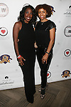 Honoree Shawn Outler and Guest at DJ Jon Quick's 5th Annual Beauty and the Beat: Heroines of Excellence Awards Honoring AMBRE ANDERSON, DR. MEENA SINGH,<br /> JESENIA COLLAZO, SHANELLE GABRIEL, <br /> KRYSTAL GARNER, RICHELLE CAREY,<br /> DANA WHITFIELD, SHAWN OUTLER,<br /> TAMEKIA FLOWERS Held at Suite 36, NY