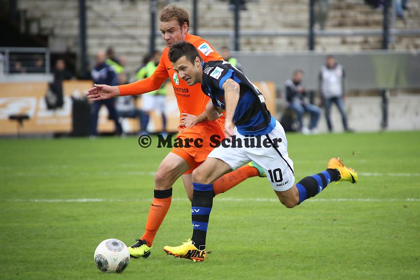 Nikita Rukavytsya (FSV) - FSV Frankfurt vs. FC Erzgebirge Aue, Frankfurter Volksbank Stadion
