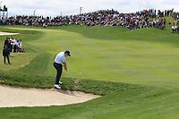 Paul Dunne (IRL) in the rough on the 4th during Round 4 of the Open de Espana 2018 at Centro Nacional de Golf on Sunday 15th April 2018.<br /> Picture:  Thos Caffrey / www.golffile.ie<br /> <br /> All photo usage must carry mandatory copyright credit (&copy; Golffile | Thos Caffrey)