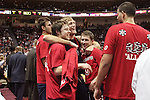 LAS VEGAS, NV - MARCH 8:  Matthew Dellavedova during Saint Mary's 81-62 win over the Gonzaga Bulldogs in the championship game of the 2010 Zappos West Coast Conference Basketball Championships on March 8, 2010 at Orleans Arena in Las Vegas Nevada.