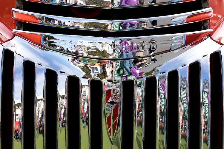 Chevrolet Grille 02 - Chevrolet custom car front grille.
