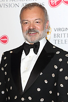 Graham Norton at the Virgin Media BAFTA Television Awards 2019 - Press Room at The Royal Festival Hall, London on May 12th 2019<br /> CAP/ROS<br /> ©ROS/Capital Pictures