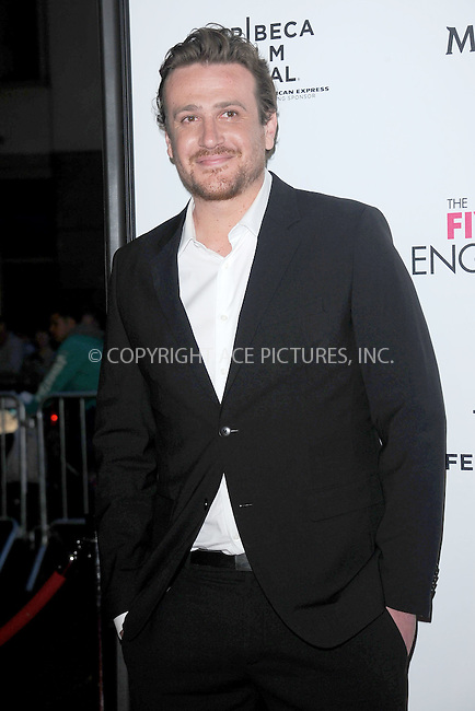 """WWW.ACEPIXS.COM . . . . . .April 18, 2012...New York City....Jason Segel arriving to the Universal Pictures premiere of """"The Five Year Engagement"""" for the opening of the Tribeca Film Festival at the Ziegfeld Theatre on April 18, 2012  in New York City ....Please byline: KRISTIN CALLAHAN - ACEPIXS.COM.. . . . . . ..Ace Pictures, Inc: ..tel: (212) 243 8787 or (646) 769 0430..e-mail: info@acepixs.com..web: http://www.acepixs.com ."""