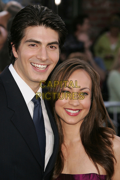 "BRANDON ROUTH & COURTNEY FORD.""Superman Returns"" World Premiere held at the Mann Village Theater, Westwood, California, USA,.21 June 2006..portrait headshot.Ref: ADM/RE.www.capitalpictures.com.sales@capitalpictures.com.©Russ Elliot/AdMedia/Capital Pictures."