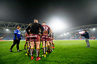 Picture by Allan McKenzie/SWpix.com - 15/03/2018 - Rugby League - Betfred Super League - Huddersfield Giants v Hull KR - John Smith's Stadium, Huddersfield, England - Huddersfield warm up on the field.