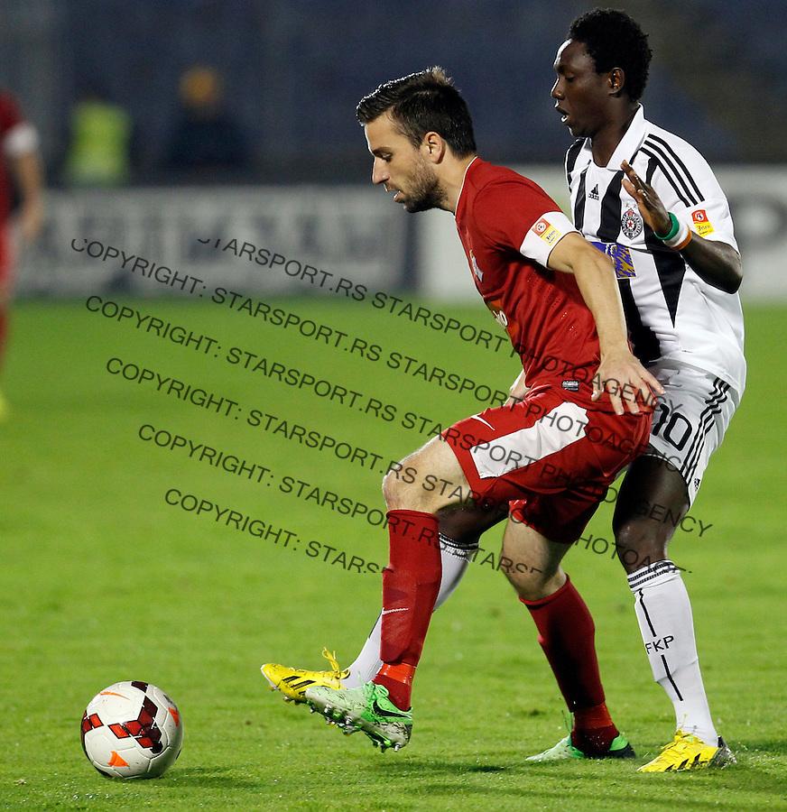 Radomir Kokovic Jelen Superliga, Partizan - Napredak Krusevac, Belgrade Serbia 27.10.2013. (credit: Pedja Milosavljevic  / thepedja@gmail.com / +381641260959)