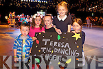 Adam Griffin, Kiatlyn Griffin, Daniel O'Sullivan, Amy O'Sullivan, Leah Griffin supporting Teresa at the Austin Stacks Strictly come Dancing Finals at the Rose Dome on Saturday