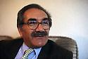 Germany 1997.Yachar Kaya, president of the Kurdish parliament in exile.Allemagne 1997.Yachar Kaya, president du parlement kurde en exil.