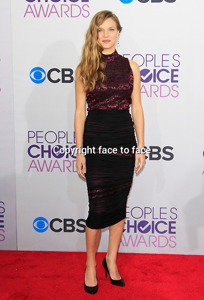 Tracy Spiridakos attending the 34th Annual People's Choice Awards at the Nokia Theatre in Los Angeles, California, January 9, 2013...Credit: Martin Smith/face to face