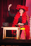 Amargosa Hotel and Opera House at Death Valley Jct...85 year old Marta Beckett, dance mime, performs a retrospect of her 42 years of theater at the Amargosa Opera House to a packed crowd of theater goers