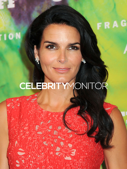 NEW YORK CITY, NY, USA - JUNE 16: Actress Angie Harmon arrives at the 2014 Fragrance Foundation Awards held at the Alice Tully Hall, Lincoln Center on June 16, 2014 in New York City, New York, United States. (Photo by Celebrity Monitor)