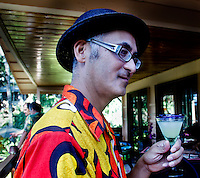 Drinks and happy hour on the Big Island of Hawaii, Noel Morata Photography. Images of appetizers, exotic drinks, tropical drinks, unusual flavors, intersting drink combinations, drink mixes, delicious drinks, aloha wear and people enjoying drinks, and happy hour time.