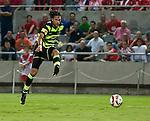 Georgios Samaras scores the opener for Celtic