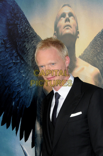 "PAUL BETTANY .""Legion"" Los Angeles Premiere held at Arclight Cinemas Cinerama Dome,  Hollywood, California, USA, .21st January 2010..portrait headshot  poster suit black tie white shirt .CAP/ADM/BP.©Byron Purvis/AdMedia/Capital Pictures."