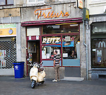 Reitz Friture famous chip shop, Maastricht, Limburg province, Netherlands,