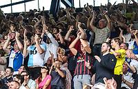 Blackburn Rovers Fans during todays match<br /> <br /> Photographer Rachel Holborn/CameraSport<br /> <br /> The EFL Sky Bet Championship - Ipswich Town v Blackburn Rovers - Saturday 4th August 2018 - Portman Road - Ipswich<br /> <br /> World Copyright &copy; 2018 CameraSport. All rights reserved. 43 Linden Ave. Countesthorpe. Leicester. England. LE8 5PG - Tel: +44 (0) 116 277 4147 - admin@camerasport.com - www.camerasport.com