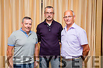 Quarryvale Estate,Mounthawk,Tralee winners of first prize in the medium estate category. Pictured l-r  Francis Foley, John Ferguson ans Sean Kissane at the Tidy Tralee Together Awards night at Fels Point Hotel on Monday