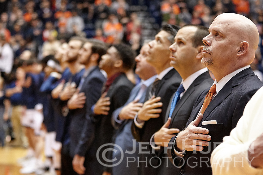 SAN ANTONIO, TX - FEBRUARY 7, 2019: The University of Texas at San Antonio Roadrunners defeat the Florida International University Panthers 100-67 at the UTSA Convocation Center. (Photo by Jeff Huehn)