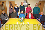 DAY CARE: Some of the older people and committee members at the North Kerry Day Care Centre at Listowel, which is expanding its services, front l-r: Bridget Kelly, Tadhg Lynch, Agnes Mulvihill, Bridie May O'Connor, Sean Curtin. Back l-r: Isabel McDonough (Nurse), Breda Woods, Brendan O'Sullivan, Ethna Galvin, Mike Moriarty.