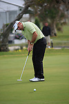 Paul McGinley (IRL) takes his putt on the 18th green during Day 2 Friday of the Open de Andalucia de Golf at Parador Golf Club Malaga 25th March 2011. (Photo Eoin Clarke/Golffile 2011)