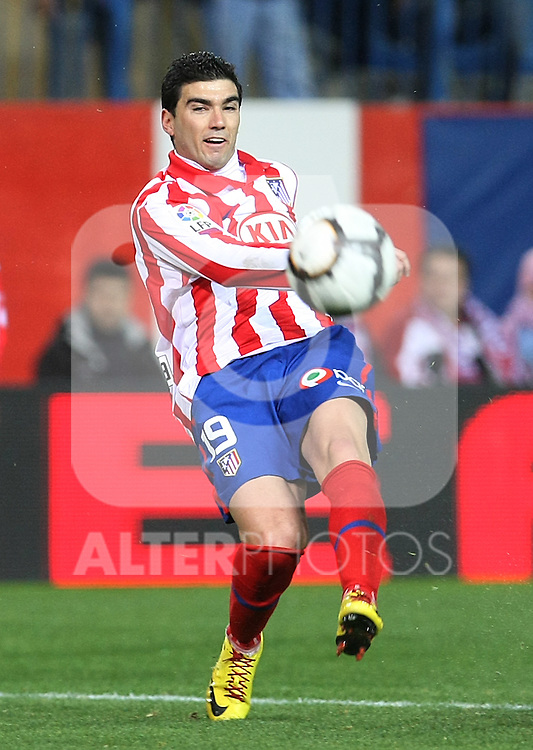 Atletico de Madrid's Jose Antonio Reyes during La Liga match.(ALTERPHOTOS/Acero)
