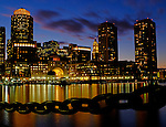 (Boston, MA, 09/23/14) Boston waterfront is seen from the Fan Pier in South Boston Seaport District on Tuesday, September 23, 2014. Staff photo by Christopher Evans