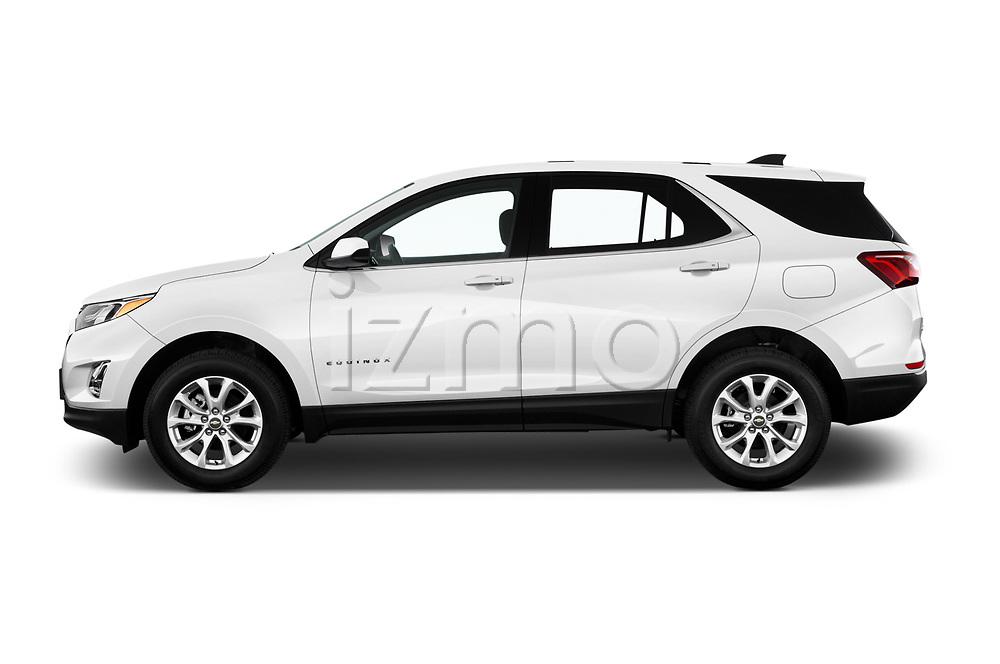 Car driver side profile view of a 2019 Chevrolet Equinox LT 5 Door SUV
