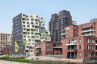 Nederland Amsterdam - april 2018 . Wonen op de Zuidas.  Foto Berlinda van Dam / Hollandse Hoogte