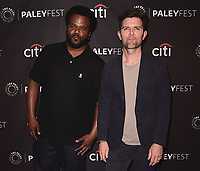 "BEVERLY HILLS - SEPTEMBER 13:  Craig Robinson and Adam Scott at the 2017 PaleyFest Fall TV Previews - FOX - ""Ghosted"" at the Paley Center for the Media on September 13, 2017 in Beverly Hills, California. (Photo by Scott Kirkland/PictureGroup)"