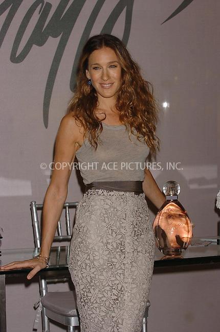 WWW.ACEPIXS.COM . . . . .  ....September 8, 2006, New York City. ....Sarah Jessica Parker launches new fragance 'Lovely' at Lord & Taylor store.....Please byline: AJ Sokalner - ACEPIXS.COM..... *** ***..Ace Pictures, Inc:  ..(212) 243-8787 or (646) 769 0430..e-mail: info@acepixs.com..web: http://www.acepixs.com