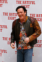 "L'attore statunitense Michael Madsen posa durante un photocall per la presentazione del film ""The Hateful Eight"" a Roma, 28 gennaio 2016.<br /> U.S. actor Michael Madsen poses during a photo call for the presentation of the movie 'The Hateful Eight' in Rome, 28 January 2016.<br /> UPDATE IMAGES PRESS/Riccardo De Luca"