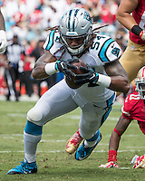 Carolina Panthers vs San Francisco 49ers, September 18, 2016