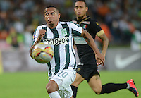 MEDELLÍN -COLOMBIA, 23-08-2015: Macnelly Torres de Atlético Nacional en acción durante el encuentro con Once Caldas por la fecha 8 de la Liga Aguila II 2015 jugado en el estadio Atanasio Girardot de la ciudad de Medellín./ Macnelly Torres player of Atletico Nacional in action during match against Once Caldas for the  8th date of the Aguila League II 2015 at Atanasio Girardot stadium in Medellin city. Photo: VizzorImage/León Monsalve/ Str