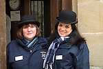 Lady custodians at Christ Church during the Sunday Times Oxford Literary Festival, UK, 16 - 24 March 2013. <br />