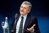 CONFERENZA UN PAESE SENZA VERITA' GIUSTIZIA MEMORIA NELLA FOTO MASSIMO D'ALEMA POLITICA BRESCIA 11/01/2011 FOTO MATTEO BIATTA<br /> <br /> CONFERENCE A COUNTRY WITHOUT TRUTH JUSTICE MEMORY IN THE PICTURE MASSIMO D'ALEMA POLITIC BRESCIA 11/01/2011 PHOTO BY MATTEO BIATTA