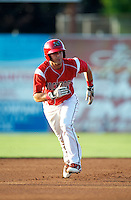 Batavia Muckdogs outfielder Garrett Wittels #21 during a game against the Brooklyn Cyclones at Dwyer Stadium on July 27, 2012 in Batavia, New York.  Batavia defeated Brooklyn 2-0.  (Mike Janes/Four Seam Images)
