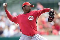 Cueto, Johnny 6788.jpg. Spring Training. Cincinnati Reds at Houston Astros. Spring Training Game. Friday March 20th, 2009 in Kissimmee., Florida. Photo by Andrew Woolley.