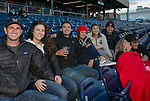 A photograph taken during the Reno Aces vs Nevada Wolf Pack baseball game at Greater Nevada Field in downtown Reno, Nevada on Tuesday, April 2, 2019.