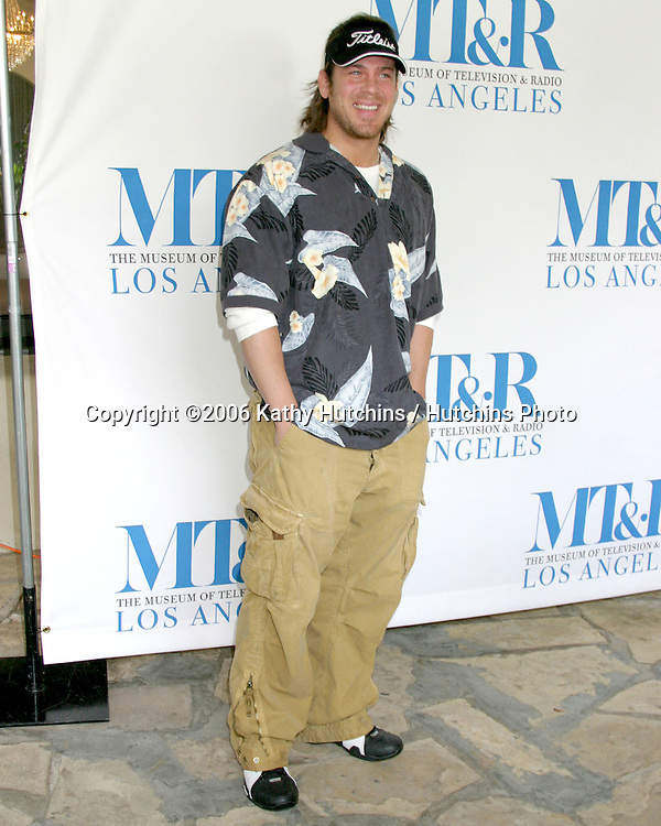 Christian Kane.Museum of TV & Radio Golf Tournament.Riviera Country Club.Pacific Palasides, CA.April 10, 2006.©2006 Kathy Hutchins / Hutchins Photo....