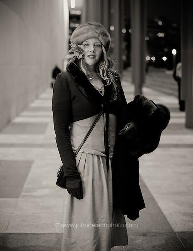 Tana at the Kennedy Center in Washington, DC.