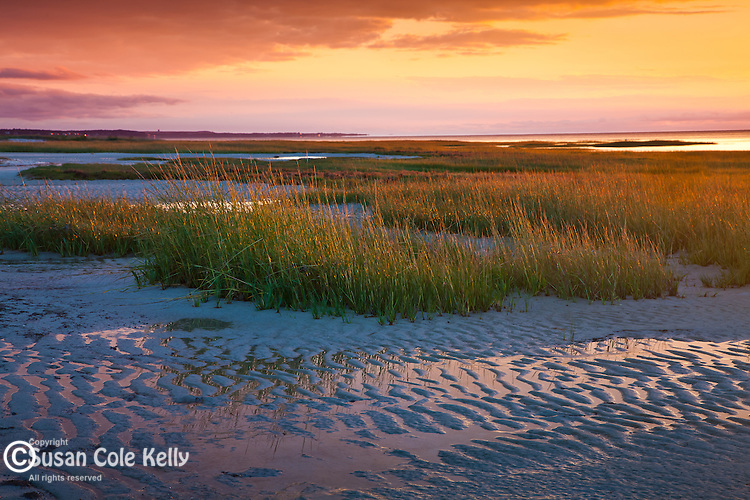 Sunset at Rock Harbor in Orleans, Cape Cod, MA, USA