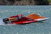 26  July, 2009, Trenton, Michigan USA.Rob Rinker (#1) and Chris Whensler (#16).©2009 F.Peirce Williams USA.zvz