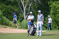 Jimmy Walker (USA) looks over his approach shot on 18 during round 3 of the AT&amp;T Byron Nelson, Trinity Forest Golf Club, at Dallas, Texas, USA. 5/19/2018.<br /> Picture: Golffile | Ken Murray<br /> <br /> <br /> All photo usage must carry mandatory copyright credit (&copy; Golffile | Ken Murray)