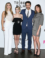 "LOS ANGELES, CA, USA - MAY 05: Zoe Levin, Emma Roberts, James Franco, Gia Coppola at the Los Angeles Premiere Of Tribeca Film's ""Palo Alto"" held at the Directors Guild of America on May 5, 2014 in Los Angeles, California, United States. (Photo by Celebrity Monitor)"