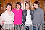 Enjoying the Dochas Drama Group quiz in the Killarney Avenue Hotel on Thursday night were Mabel Counihan, Pat O'Toole, Mary O'Shea and Loretta Ryan.