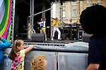 Pix: Shaun Flannery/shaunflanneryphotography.com...COPYRIGHT PICTURE>>SHAUN FLANNERY>01302-570814>>07778315553>>..28th August 2011................Cusworth Music Festival 2011..Cusworth Hall, Doncaster..The Great Pretender with the HRH Band,