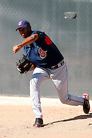 Kelvin De La Cruz -  Cleveland Indians - 2009 spring training.Photo by:  Bill Mitchell/Four Seam Images