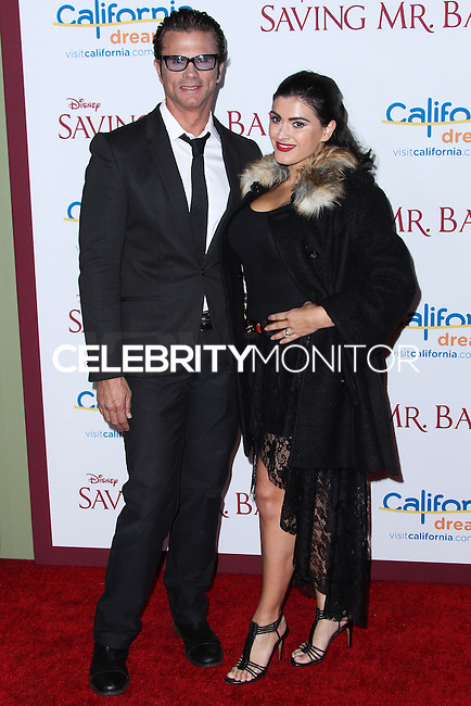 "BURBANK, CA - DECEMBER 09: Lorenzo Lamas, Shawna Craig arriving at the U.S. Premiere Of Disney's ""Saving Mr. Banks"" held at Walt Disney Studios on December 9, 2013 in Burbank, California. (Photo by Xavier Collin/Celebrity Monitor)"